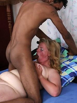 Mature blonde fucking and sucking
