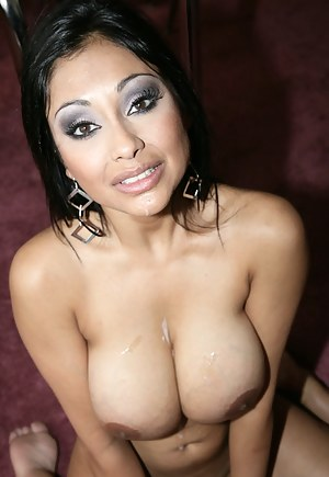 Thick Indian beauty can't focus on the subject at hand, because she's so goddamn distracted by this dude's massive boner. Enjoy watching her fuck.