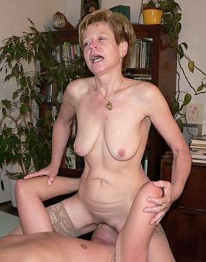 Granny loves fucking and sucking this younger dude