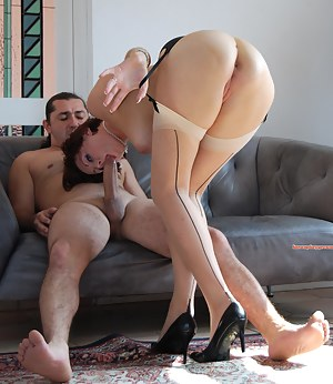 Lara loves getting a new cock to play, suck and fuck with