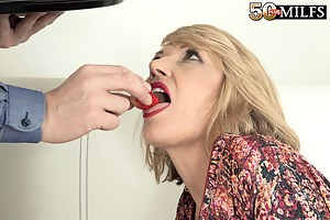 A mouthful for Amy