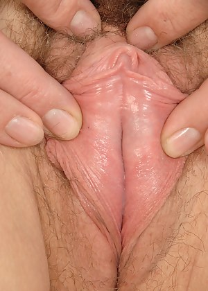 A hairy pussy and large bangers on 42 year old Misti from AllOver30