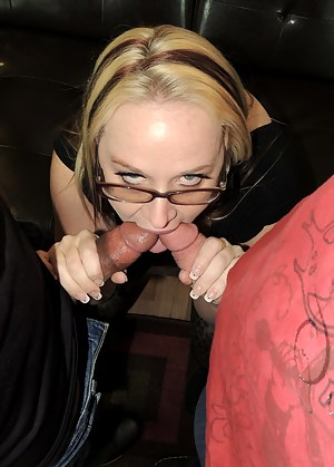 Horny afternoon and I felt like getting messy. Mr. Siren invites over a boy toy for me to play with. His hung cock makes me gag and squirt all over the place. I even squirt right through my pants. Holy fuck he has a big dick!After sucking him and my hubby