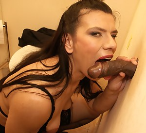 This horny mature slut loves the cock
