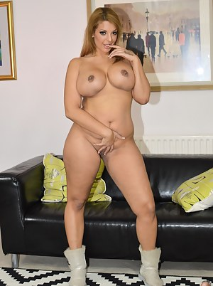 She is so curvy and soft, Jim can't wait to jam his cock in
