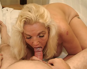 Mama just loves a hard cock to please