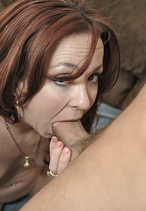 Slutty ginger woman is demonstrating great striptease skills and touching her pussy. Her lover is also torturing her twat with his cock.