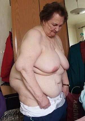 Obese granny