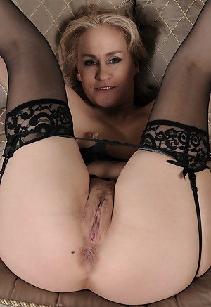 At 46 years old Emerals Rose from AllOver30 looks great in lingerie