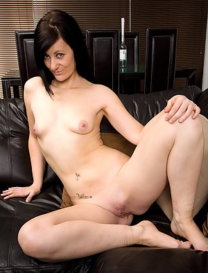 Petite Cheery P from AllOver30 shows off her perky tits in this one