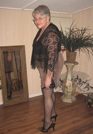 Black seamed stockings and a beige girdle, are so sexy to the touch. Preferably with your hard cock baby Girdlegoddess a